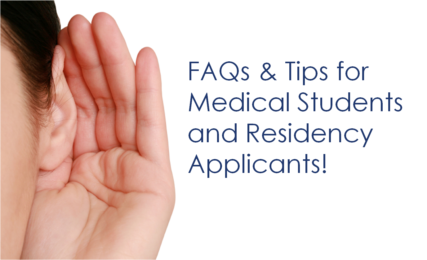 So You Want to Be an Anesthesiologist — Hints for Residency Applicants